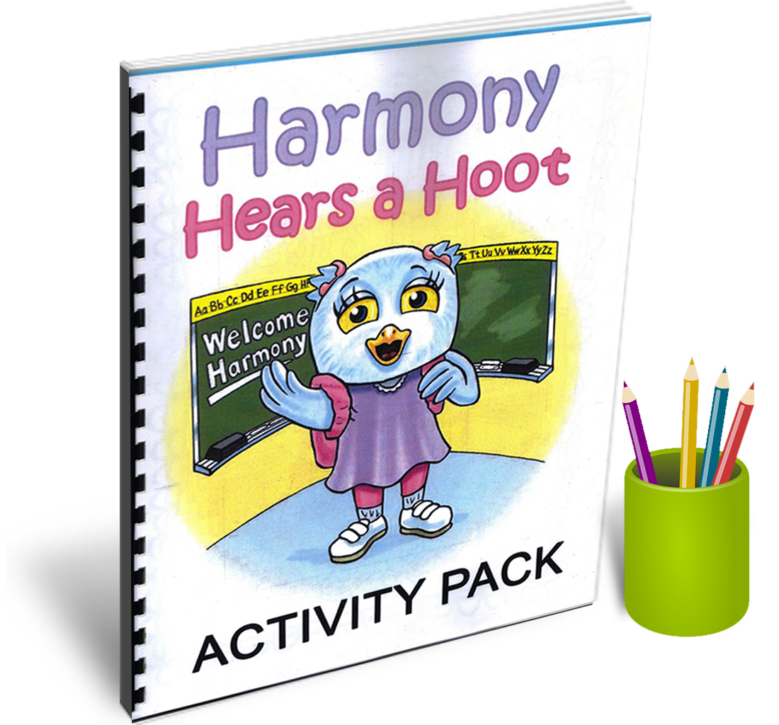 """Harmony Hears a Hoot"" Activity Pack"
